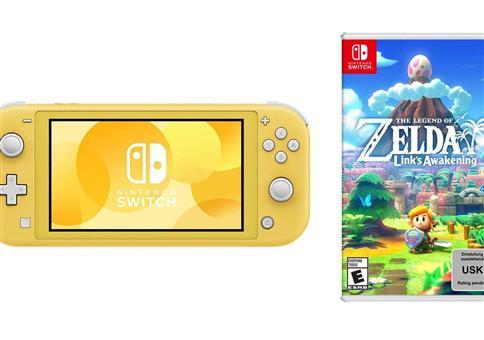 Nintendo Switch Lite + Zelda für 197,55€ (statt 231€)