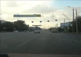 Hole in one im Straßenverkehr