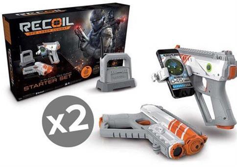 2er Pack Goliath AR-Laserspiel Starter Set