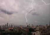 Gewitter über Chicago