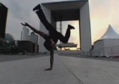 Slow Motion Breakdancing