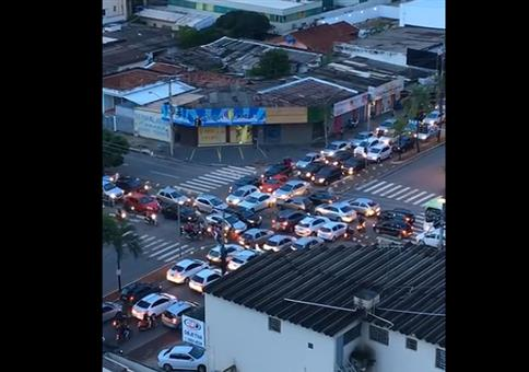 Unnötiger Stau in Brasilien