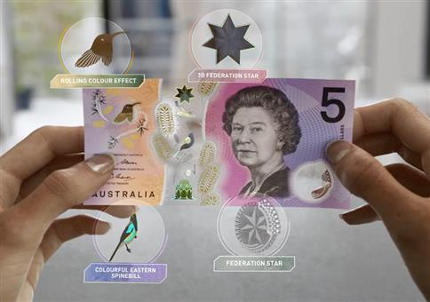 Neue Generation australischer Banknoten