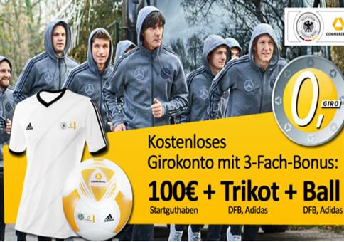 100€ Prämie + DFB Fan-Paket!