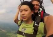 Neulich beim Paragliden - Bist du ok Kumpel?