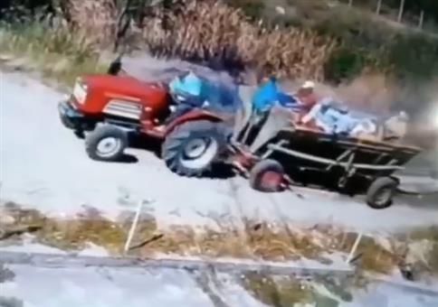 Sich den Traktor teilen