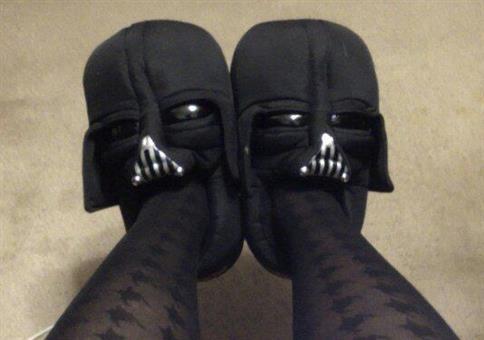 Darth Vader Hausschuhe