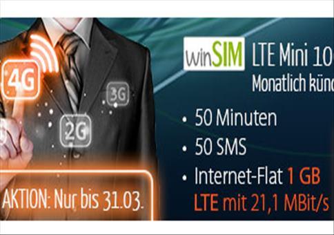 Bester Handytarif ever: LTE für nur 3,99€