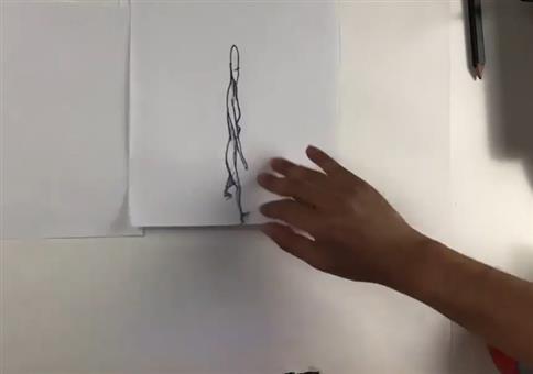 Stop Motion Animation aus drehender Perspektive