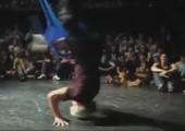 Head Spin beim Breakdance