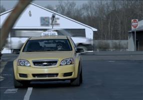 Streich: Taxifahrt mit NASCAR-Rennfahrer Jeff Gordon