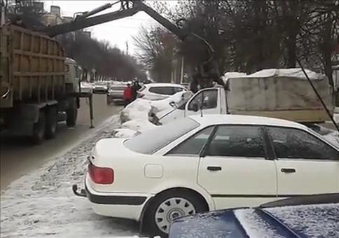 So wird in Russland abgeschleppt