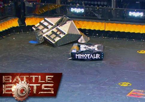 Blacksmith VS Minotaur – BattleBots