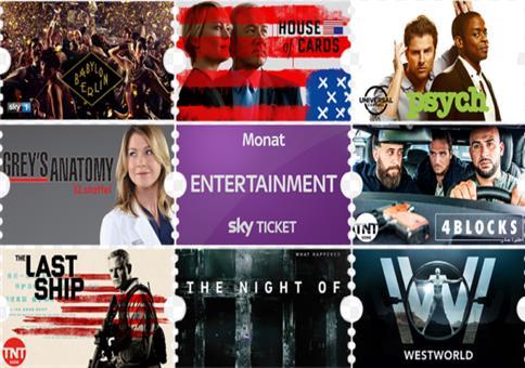 Sparpreis: Sky Entertainment Ticket!