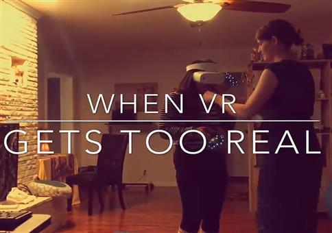 Wenn das mit der VR-Brille zu realistisch ist