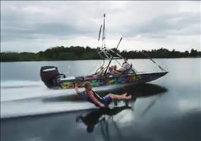 Wasserski ohne Ski