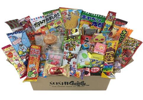 40 japanische Süßigkeiten & Snacks