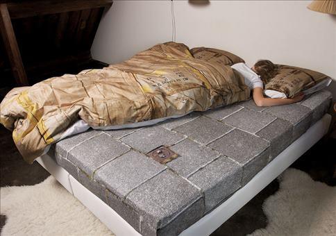 Schlafen wie ein Penner