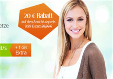 Letzte Chance: Allnet + 2GB LTE für 6,99€