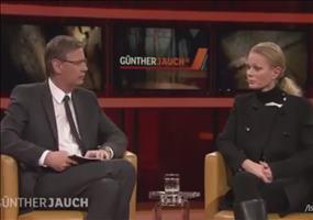Pegida-Organisatorin zerstört Günther Jauch
