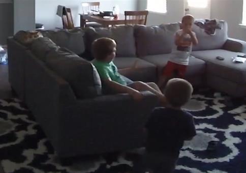 Wenn Jungs spielen, dann ist meist schnell jemand angepisst