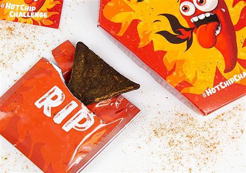 Carolina Reaper Chili - Tortilla-Chip extrem scharf