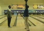 Merkwürdige Bowlingsstunde