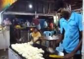 In einer indischen Küche arbeiten