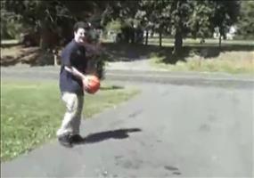Kein normaler Basketball