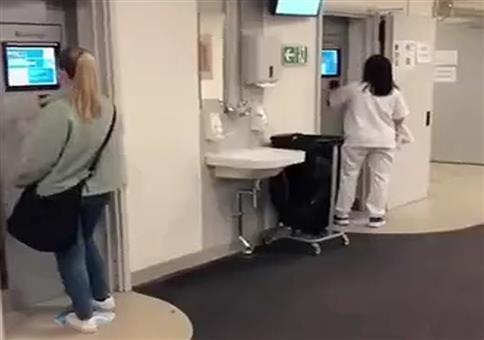 Krankenhaus in Norwegen
