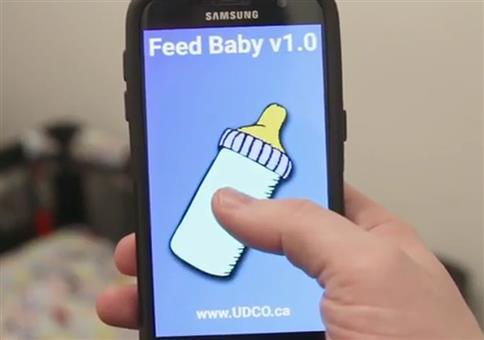 Baby per App füttern