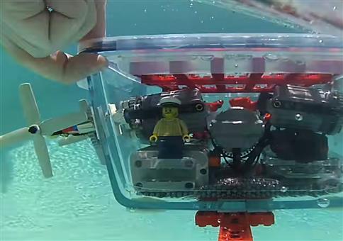 Das LEGO-Ikea-U-Boot