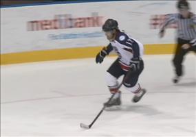 Torjubel mit Köpfchen beim Eishockey