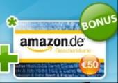 50€ Amazon Gutschein für 40€ bei Quicker