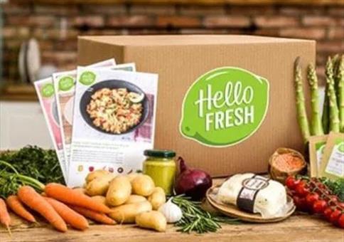 HelloFresh Kochbox - 3 Gerichten für 2 Pers.für 19,99€