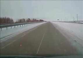 Schneeräumen in Kasachstan FAIL