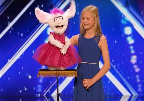 12-jährige Bauchrednerin bei America's Got Talent 2017