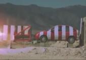 Crashtest mit Raketenschlitten