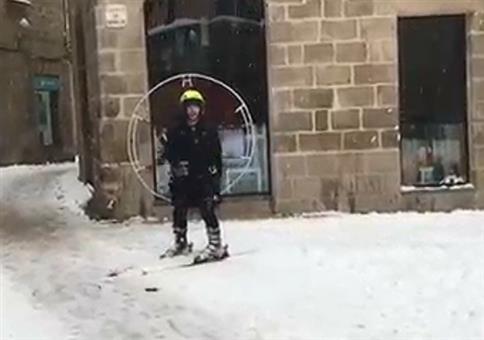 Ski-Hovercraft