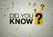 Wusstest du?