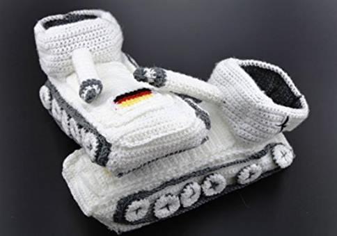 Panzer Hausschuhe