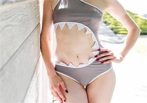Hai-Attacke Bikini