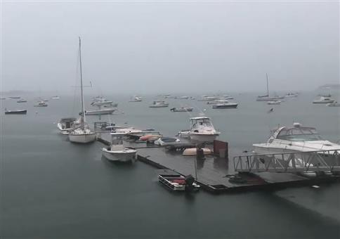 Toller Ausblick am Yachthafen
