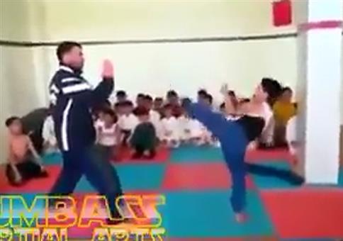 Knallharte Kampfsportausbildung für Kinder