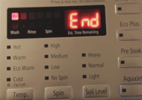 Tanzen wenn die Waschmaschine fertig ist