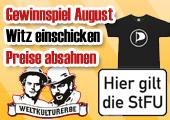 Gewinnspiel: Witz des Monats August 2009