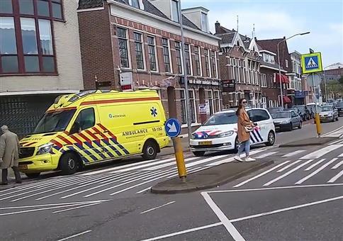 Polizeisirene in den Niederlanden