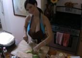 Denise Milani Cooking HD