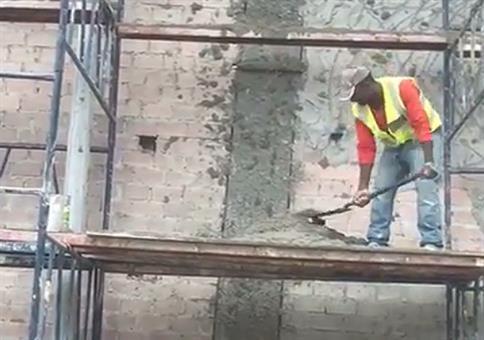 So werden heutzutage Fassaden verputzt