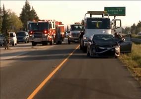 Gaffer verursachen zweiten Unfall